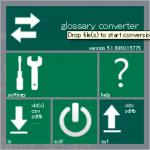 Glossary Converter 起動