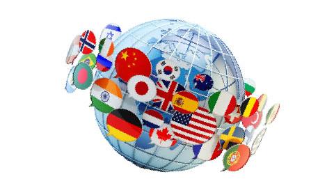 74言語に対応、世界中の人と会話できる
