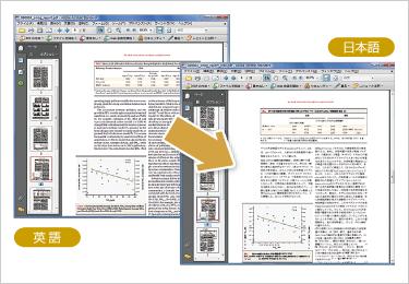 PDF ファイル翻訳