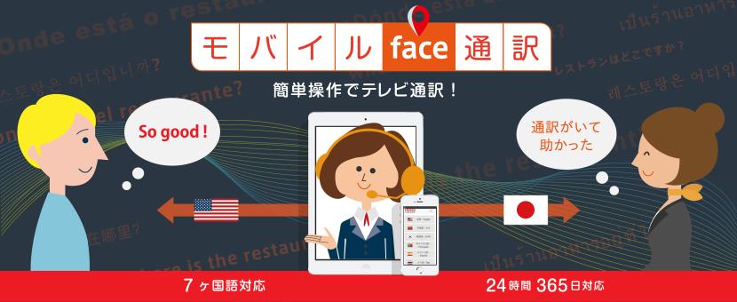 モバイルface通訳