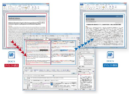 MED-Transer V18 XML翻訳