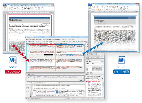 PC-Transer 翻訳スタジオ V24 XML翻訳