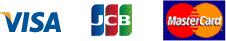 VISA JCB Master Card ロゴ